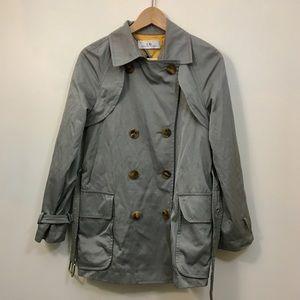Carolina Herrena cotton blend trench coat jacket